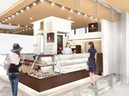 *2月17日NEW OPEN アトレ川崎店* 新商品お披露目時はいち早くパンの試食会に参加もできます♪オシャレなベーカリーの販売STAFF★