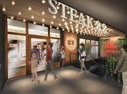 老舗のステーキハウス88が、北谷町にいよいよOPEN♪未経験スタートの方も大歓迎!お気軽にご応募ください(^_^)/