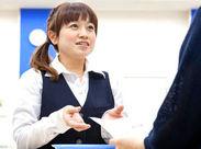 「水道局の顔」として気持ちのいい対応を心がけています◎ 事務・接客経験者さん歓迎!女性スタッフ活躍中♪