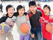 子どもたちは元気いっぱい!笑顔いっぱい!自然と笑顔になれるんです♪