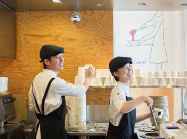【店舗Staff】スープ一杯でお客様を笑顔に♪未経験のアナタの不安も先輩がしっかりキャッチ◎パートナーズカードでいつでも商品が10%OFF★