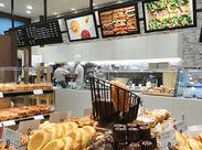 パン好きの方必見★ オトクな特典もポイント!美味しいパンが25%OFFで購入!高時給+明日の朝食もGETできちゃいます♪