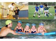 ≪子ども好きな方、特に大歓迎♪≫ スポーツを通して、子ども達の好奇心や 「やってみたい」の気持ちを育てていきます!!