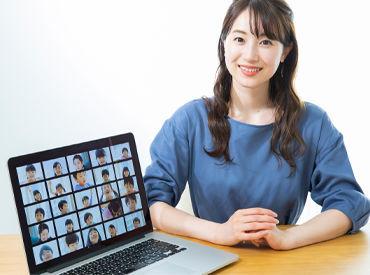 PC設定などの基本的な業務をはじめ 動画編集、資料作成、講師業務など 幅広い業務にチャレンジ可能です♪ ※写真はイメージ