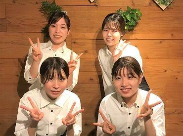 """京風お好み焼きが人気のダイニング♪☆""""お洒落な制服を着て楽しく働けると思いますよ!"""