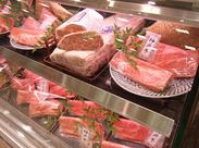 働いているとお肉の知識も自然と覚えれるので 美味しいお肉の見極め方など役立つ豆知識も身に付きます!