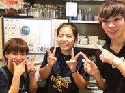渋谷店は時給1100円にUP♪ みんな個性的だけどイイ奴ばかり♪「その髪色超いいじゃん!」とかプライベートなことも話してます♪