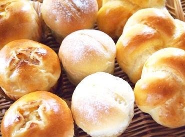 【パンの製造補助】焼き立てパンの美味しい香りに囲まれながらお仕事―★15:00終業の日中シフトで家事との両立もバッチリ◎