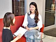 フロントでの受付と、エステの対応がお仕事です◎ 未経験でもOK!資格など必要ないので、どなたも始められます♪