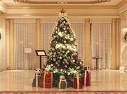 ホテルはテレビや雑誌のロケ地になることも★*ハロウィンやクリスマスetc.季節ごとに飾りつけが変わるのも楽しい♪