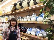 <STAFF大募集> プレゼントの相談にのったり、ディスプレイを工夫したり、楽しみながら働きましょう♪(C) Studio Ghibli