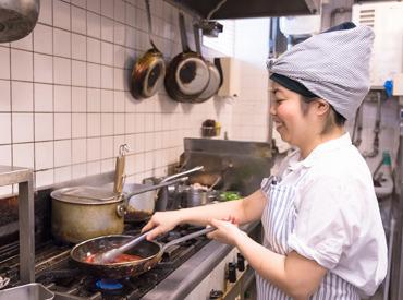 【キッチンSTAFF】お洒落な料理が作れるようになりたい方必見♪現場のスタッフが発信する声を大切に。華やぐティータイムを一緒につくりませんか