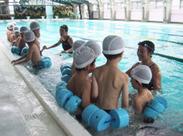 「25m泳げるようになったよ!」 子どもの笑顔と成長を見守れる、身近に感じられる★゜未経験でも始められます!