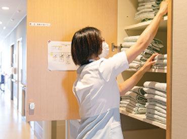 病院を支える【縁の下の力持ち】★ 覚えやすいシンプルなお仕事◎ 資格や経験は一切必要ありません♪