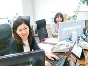 キレイなオフィスで気持ち良くお仕事できる♪*゜ 金沢駅からも徒歩9分! 帰りにお買い物もできちゃう好立地◎