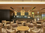 ≪NEW STAFF大募集≫大手町駅直結『大手町パークビル』に参入するビジネスマン向けのカフェ!飲食経験者歓迎!