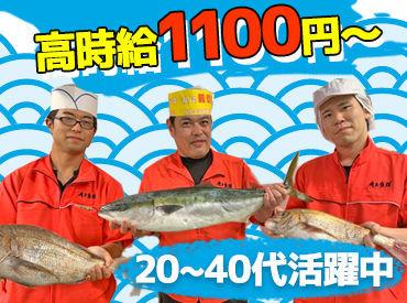 未経験OK!知識は一切不要◎ 『魚の種類とかよく分からない…』 ⇒そんな方も大歓迎です!