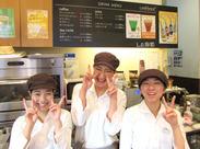 ≪駅チカにある人気のベーカリーSHOP♪≫ 香ばしいパンがふんわりと漂う店内は、パン好きにはたまらない空間です!