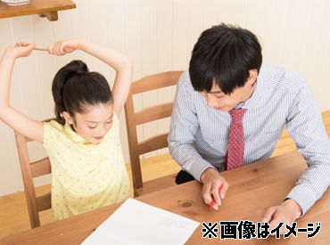 「先生ココどうするの?」「コレで合ってる?」などの質問に優しく答えてあげてください◎ 可愛い子どもたちの笑顔に癒されます*