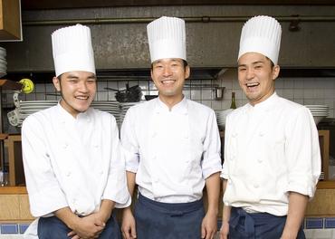 【調理スタッフ】経験者募集!都内の洋食レストランをご紹介★社員登用◎経験を生かせる、より良い職場へ!あなたの希望にあったお店を選べます