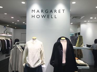 【アパレルstaff】「お洒落がすき、服が好き!でも…接客に自信がない(´・ω・`)」でも、大丈夫!マーガレットハウエルでゆったり働こう