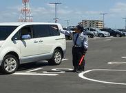 商業施設の駐車場での交通誘導♪よくある交通誘導のお仕事のように、毎回別の現場に行く必要はありません★