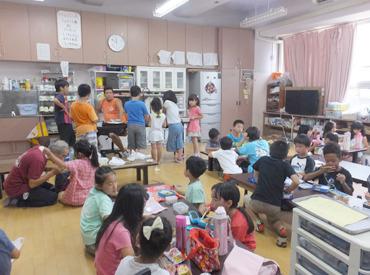 【学童staff】応募資格=子ども好き!一緒に遊ぶ・見守るのが中心だから未経験でもはじめやすい★子ども達があなたを待っています♪