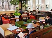 全国最大級の超大型複合書店内にある モダンなゆとりの空間が人気のカフェ♪ 店長への道も目指せますよ!未経験もOK!