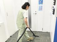 掃除機掛けやゴミの回収など、やることはとってもシンプル★未経験でも安心のオシゴト◎