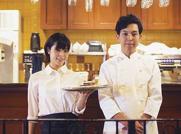 【店長(候補)】スタイリッシュなカフェ&レストランで店長候補を募集!