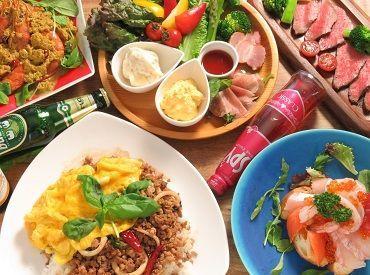 新店4月上旬のオープンに向けてオープニングスタッフ大募集!! アジアン料理専門店♪ アジアン料理に興味がある方大歓迎!!