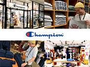 """どんなシーンでも活躍できる""""チャンピオン""""。 幅広い世代に世界中で愛されるブランド店で お店をもっと盛り上げませんか?"""