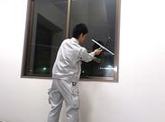 窓掃除もちょっとしたコツを覚えるだけで、ものすごくキレイになるんですよ★自宅でも使えるスキルなのでキレイ好きな方にも◎