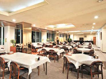 【レストランstaff】11月までの短期♪週2/3H~◎午前だけor夕方だけもOK!リゾート地ならでは!贅沢空間☆彡家族旅行が多く、落ち着いた雰囲気◎
