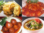 \美味しいまかないに大注目/ ↑こんな豪華な料理も食べられる☆ さらに…「週1日」「1日2時間」からゆるっとOK!