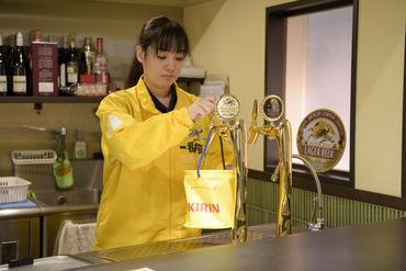 キリンビールのルート営業のお仕事♪新商品や人気商品をご案内!大手企業で働けて、やりがいもバッチリ☆