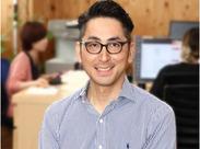 写真は代表の木村さん◎経験者は能力に応じた評価制度により、高収入も可能です。スキルアップによるステップアップ制度も完備。