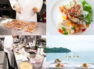 これからの暖かい時期に最適…♪海を臨むシーボニアレストランでお料理スキルをアップしよう◎学生さんもWELCOME!!