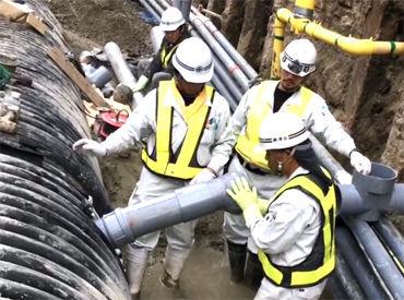 【作業STAFF】/みなさん!『博多駅前の陥没事故』その奇跡の修復劇を覚えていますか?実は、復旧に貢献したのは私たちなんです!\