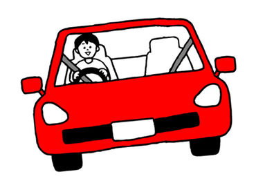 安心・安定の【時給制】!! 注文が少なかった日も、時間分のお給料はしっかりお支払いします★ 車なので配達も早くてラク♪