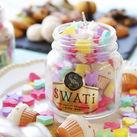 人気のコンペイトウキャンドル♪ お菓子の「金平糖」をモチーフにしたキャンドルを販売しよう♪