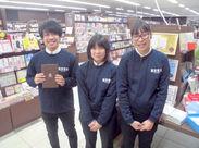【蔦屋書店 新潟万代Staff】では学生~主婦(夫)さんまで、幅広い世代のスタッフが活躍中です!