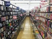 ★文庫、マンガ、DVD好きにぴったり★ 好きなものに囲まれてお仕事!家電やおもちゃも扱っているお店です♪