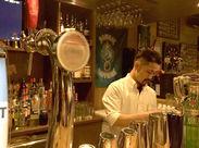 コンセプトは<気軽に入れるBarの入口◎> Barとしてはもちろん、お食事やパーティーなどにも利用される人気のお店です♪
