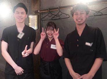 ≪横浜でも大人気の串工房♪≫ 髪色自由!ピアスもOK♪ いつも通りで働けるからテンションもUP★ お店の雰囲気も最高です!