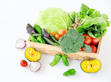 青果市場直送のお野菜や果物がたくさん★ 未経験の方でも大歓迎です♪ ※画像はイメージ
