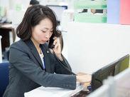 求職者様への電話対応をお任せ致します♪話し方やトークのスキルはしっかりお教えしますので安心してご応募ください◎