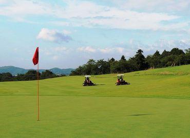 神奈川県の中でも人気の山岳ゴルフコース♪ 自然豊かな環境で気持ちも心もリフレッシュしながら働けますよ*