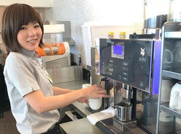 病院内のドトールコーヒーショップ★ 「すぐ働きたい」「来月からスタート」など ご希望の勤務開始時期をご相談ください◎