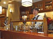 ~本格コーヒーの香りが漂う落ち着いた店内~ コーヒーマイスターの資格取得支援やラテアートも作れるようになっちゃいます★